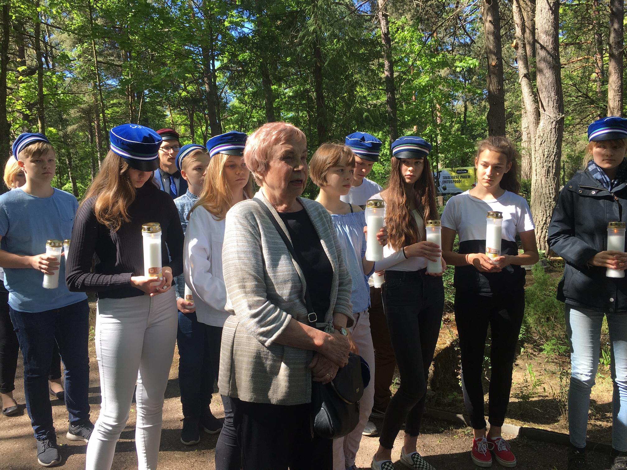 Helda Venderström pälvis Eesti Muinsuskaitse seltsi tunnustuse
