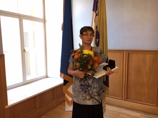 Palju õnne õpetaja Katrin Meinart!