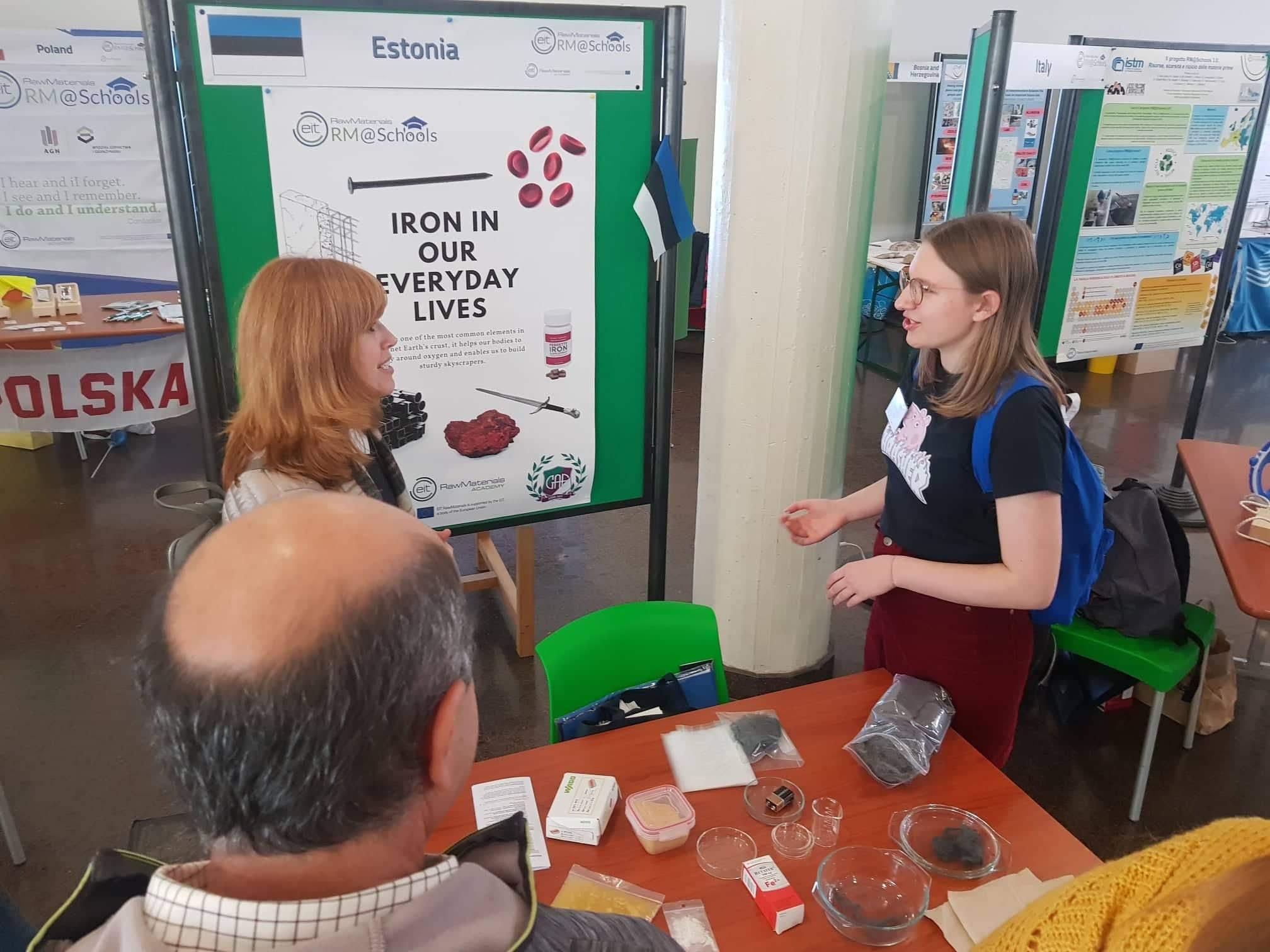 GAG õpilane eraldas Itaalia teaduskonverentsil hommikusöögihelvestest rauda