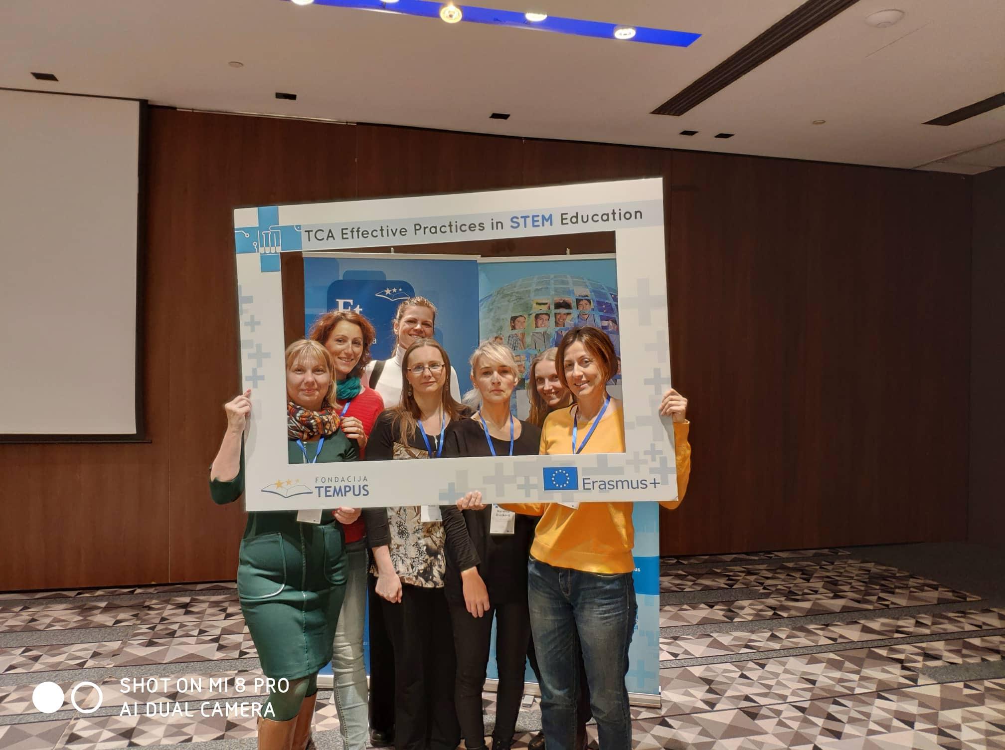 Gustav Adolfi Gümnaasiumi osalemine rahvusvahelisel Erasmus+ kontaktseminaril Serbias