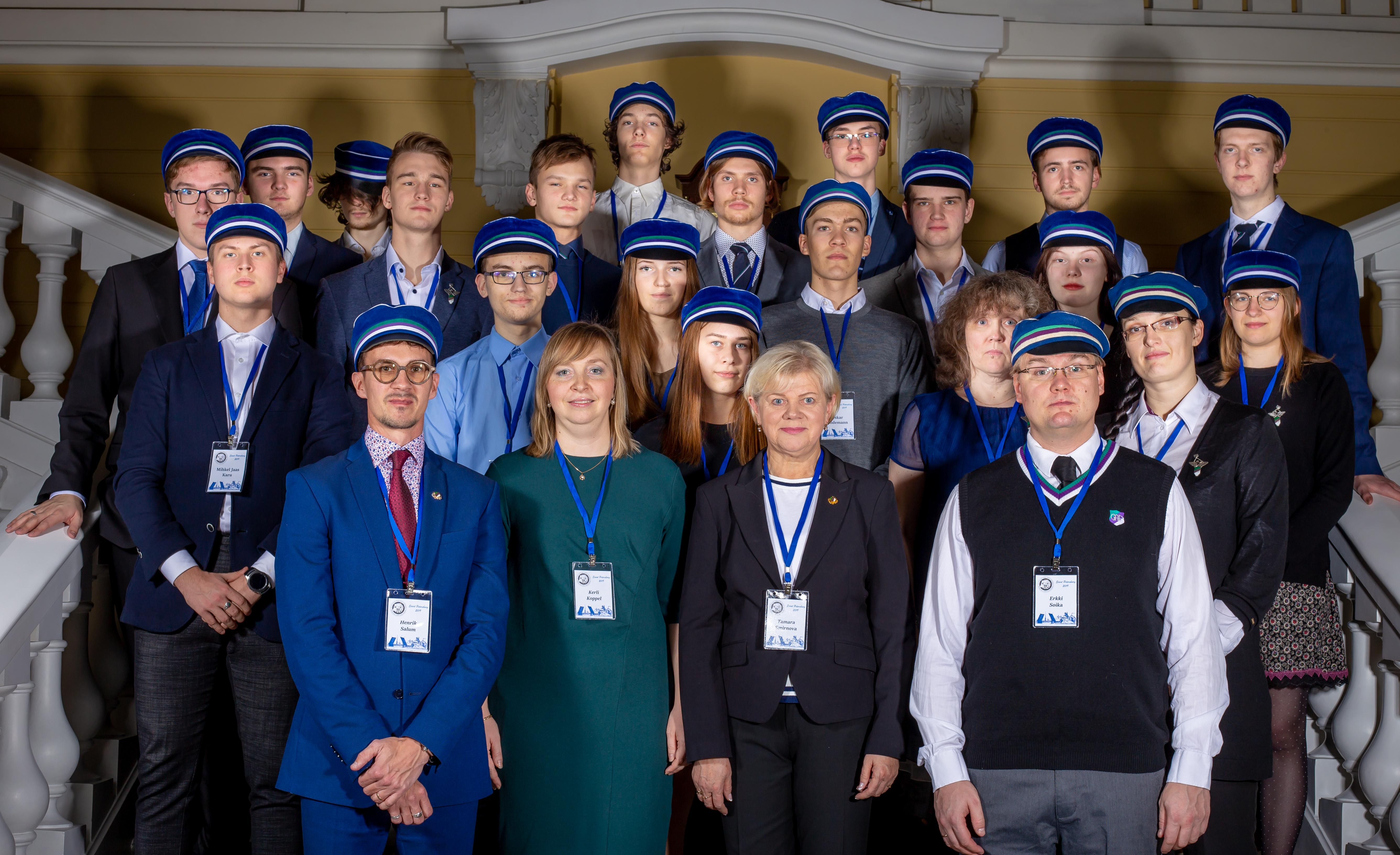 Riia-Vilnius-Tallinn-Helsinki-Västerås-St Peterburg reaalainete olümpiaad