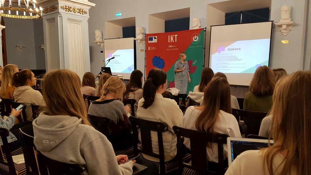 IT-tüdrukute õhtu Gustav Adolfi Gümnaasiumis