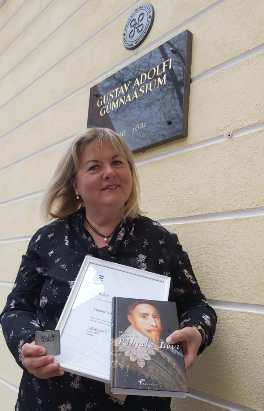 Tallinn tänab ja tunnustab õpetaja Merike Volarit!