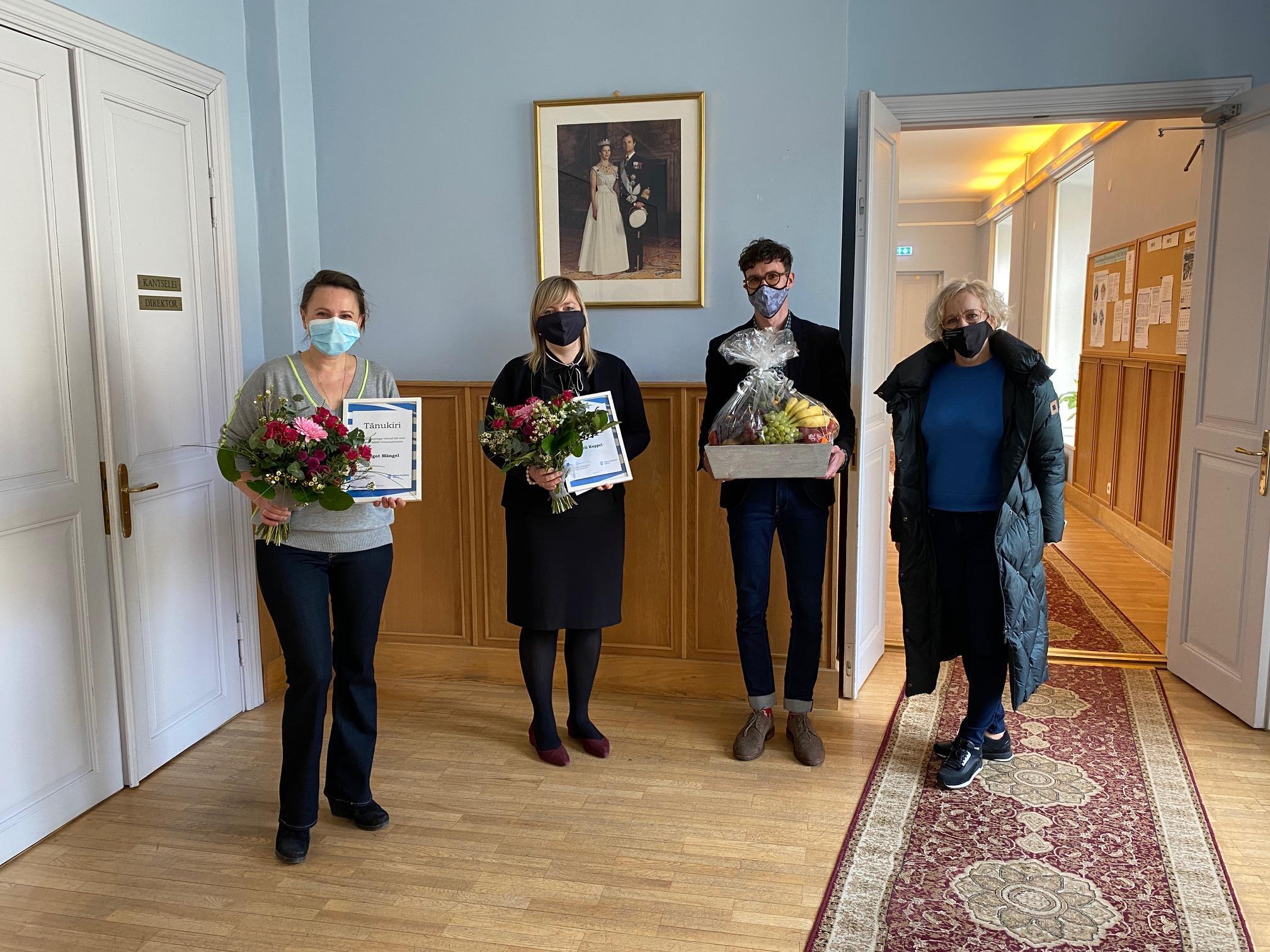 Tallinna Kesklinna vanema tunnustus – Kerli Koppel ja Margot Mängel