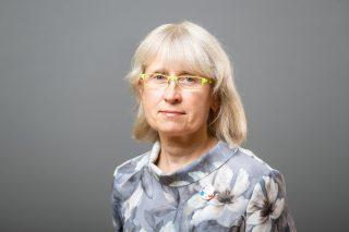 Marike Käärik- tugipersonal- tervishoiutöötaja Kotzebue õppehoones